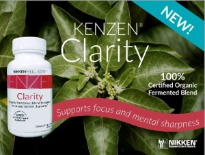 Kenzen Clarity for Alertness and a clear mind